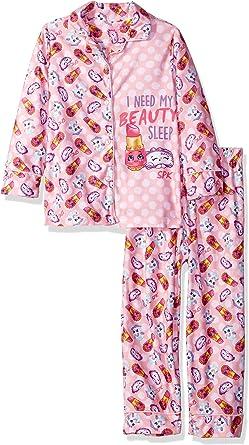 Childrens Apparel Dream Works Little Girls Trolls Fleece Pull-Over Hoodie Two-Piece Pant Set Multi 6
