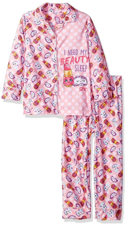 INTIMO Girls Shopkins Coat Front Pajama