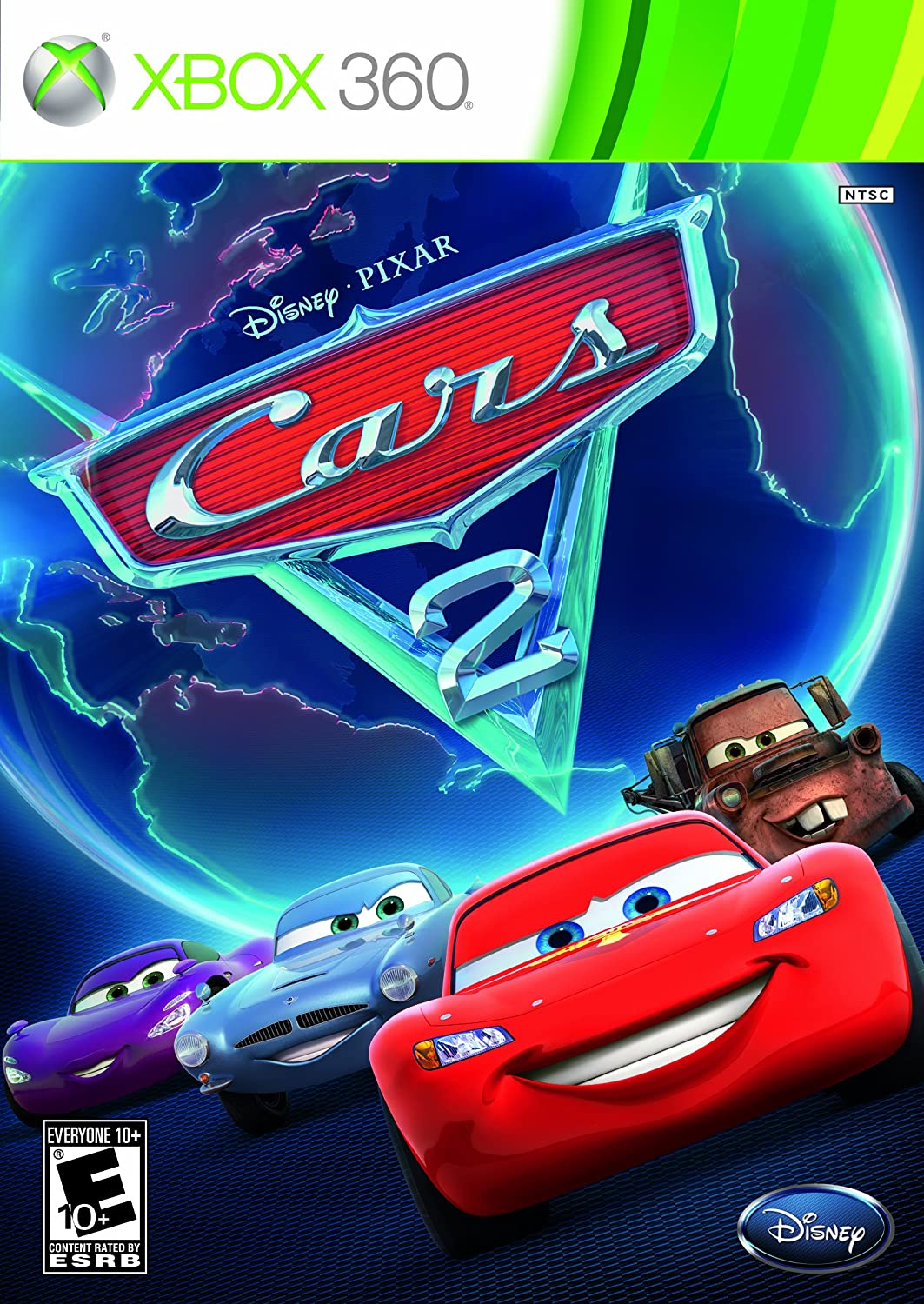 Amazon com: Cars 2: The Video Game - Xbox 360: Disney