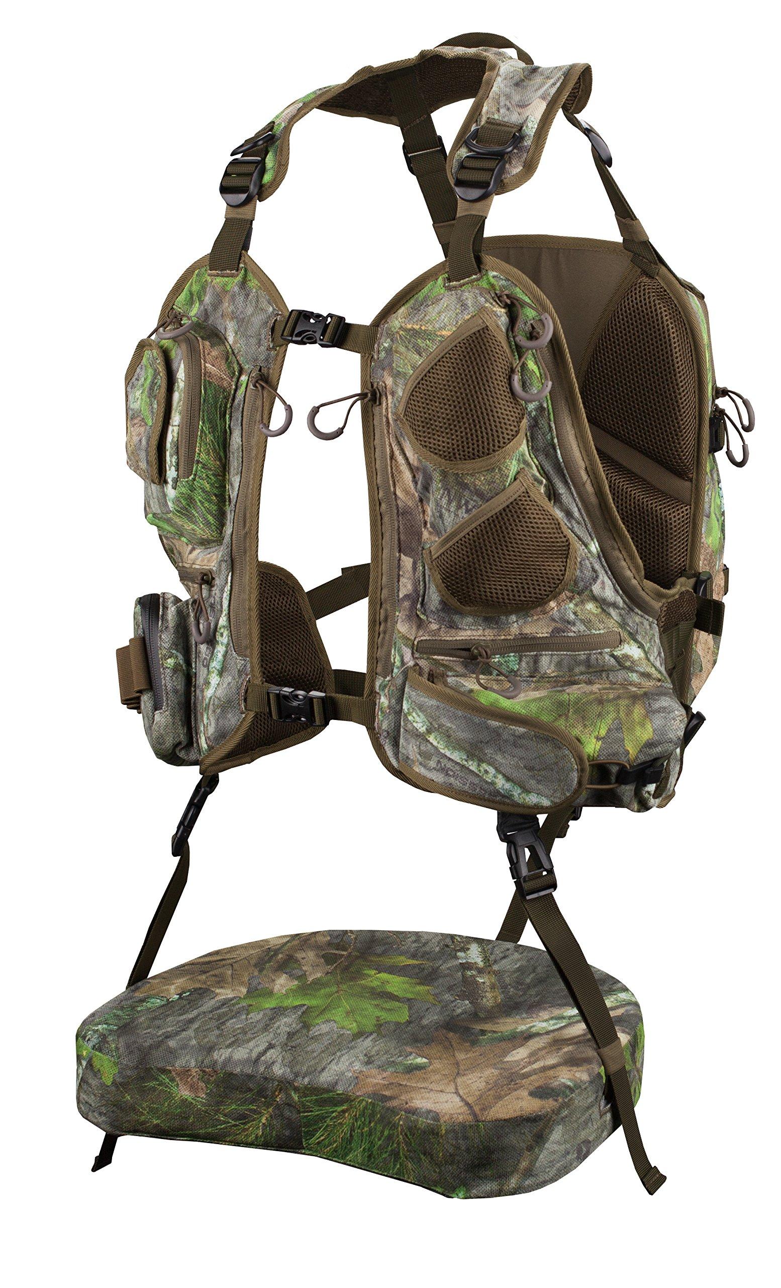 Knight & Hale KHT0068 Run N' Gun 300-Mossy Oak Turkey Vest, Mossy Oak Obsession by Knight & Hale (Image #2)