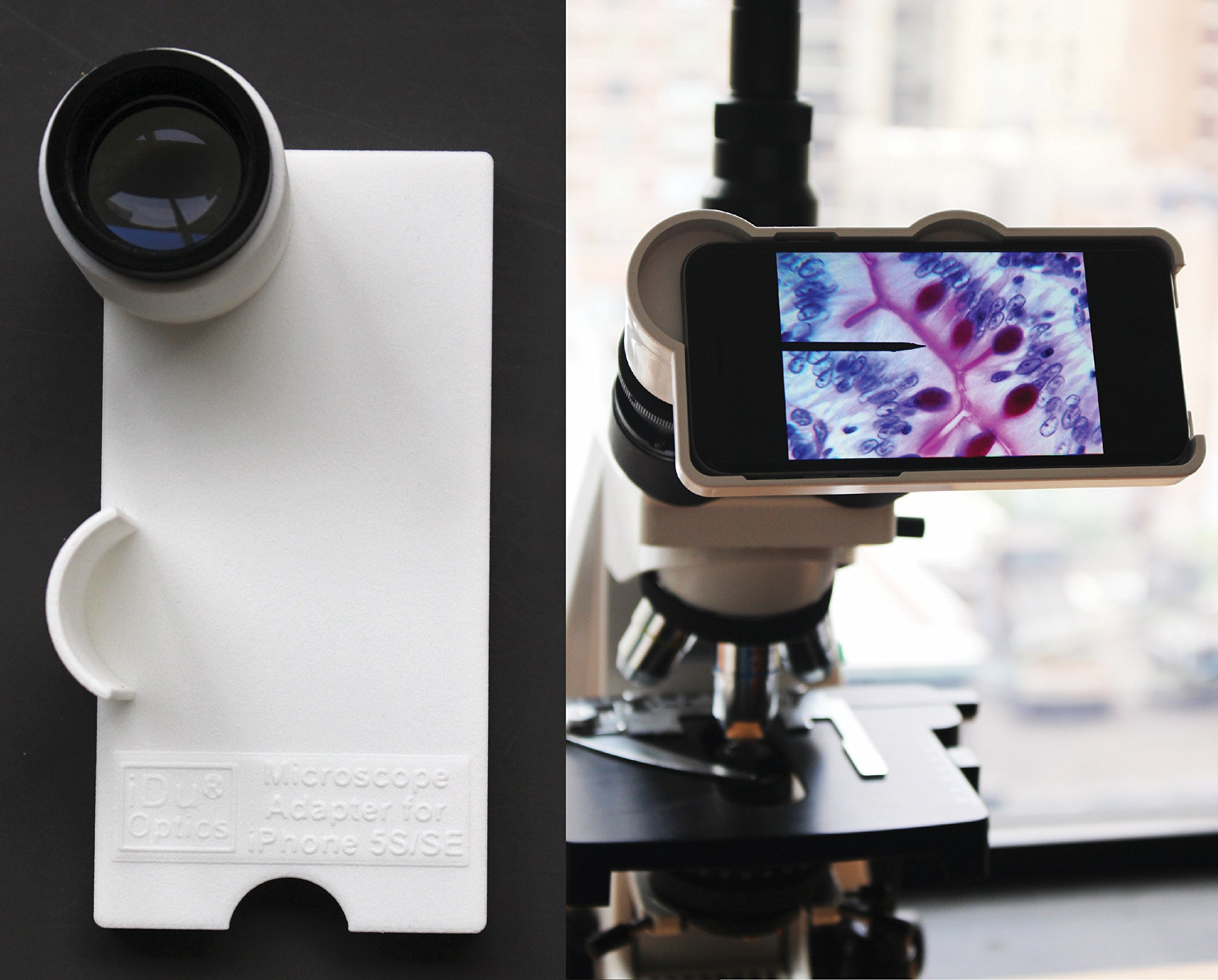 LabCam Microscope Adapter Compatible with iPhone 5/5S/SE by iDu Optics