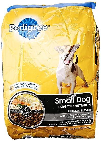 Pedigree Small Breed Original Dog Food 159 Lb Amazoncom Grocery