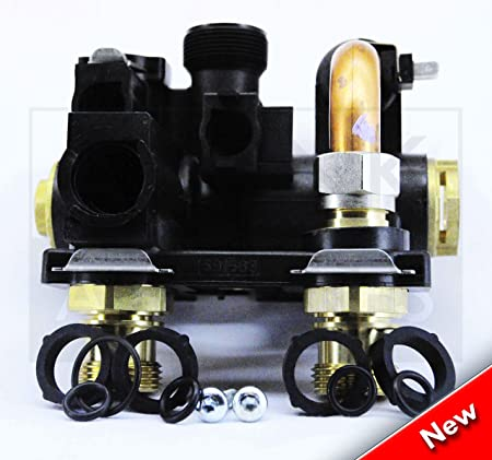 GLOWWORM 24CXI 30CXI 38CXI SANITARY BLOCK 3 WAY DIVERTER VALVE ...