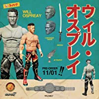 Super7 New Japan Pro Wrestling Ultimate Figures: Will Ospreay Action Figure, Multicolor