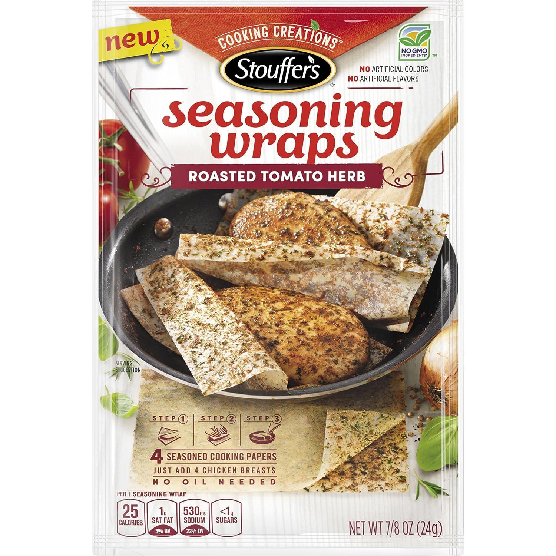 Stouffers Seasoning Wraps Roasted Tomato Herb, 0.85 oz