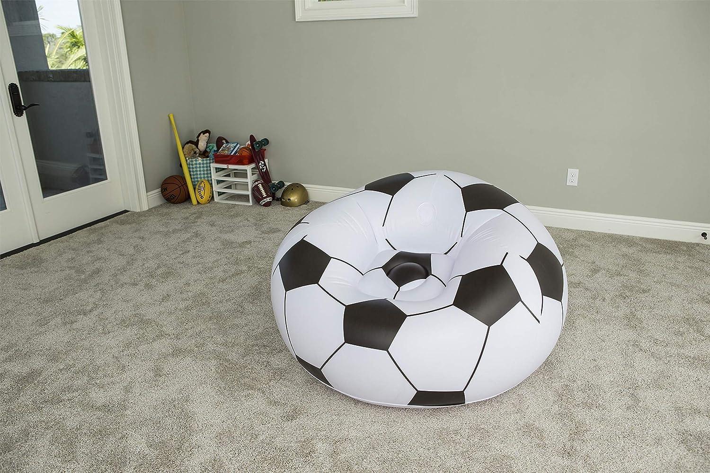 Bestway 75010 - Puff Hinchable Balón Fútbol: Amazon.es: Deportes y aire libre