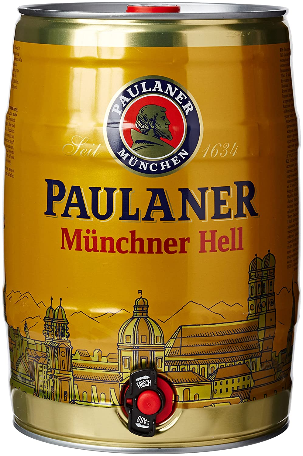 Paulaner and Salvator are two of Paulaner Keller's prized libations, with  the latter weighing in with industrial strength alcohol content.