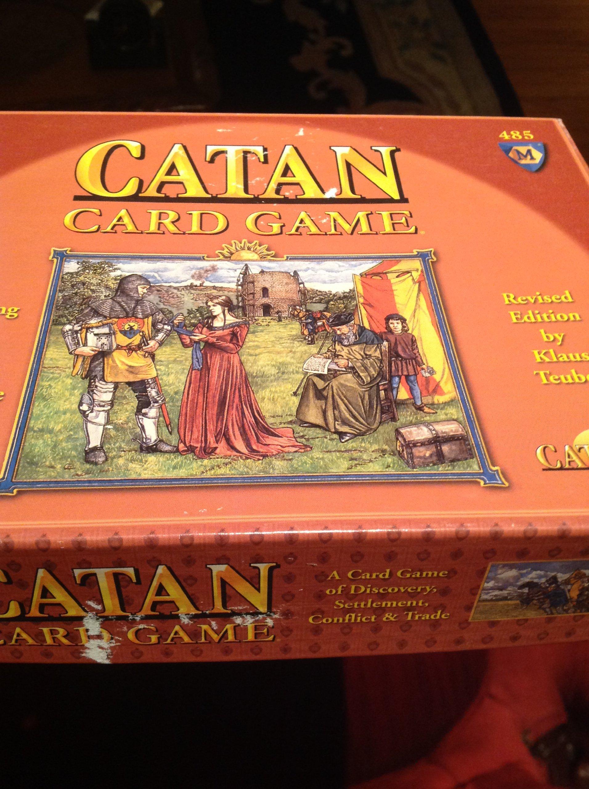 Settlers Catan Card Game: Amazon.es: Libros en idiomas extranjeros