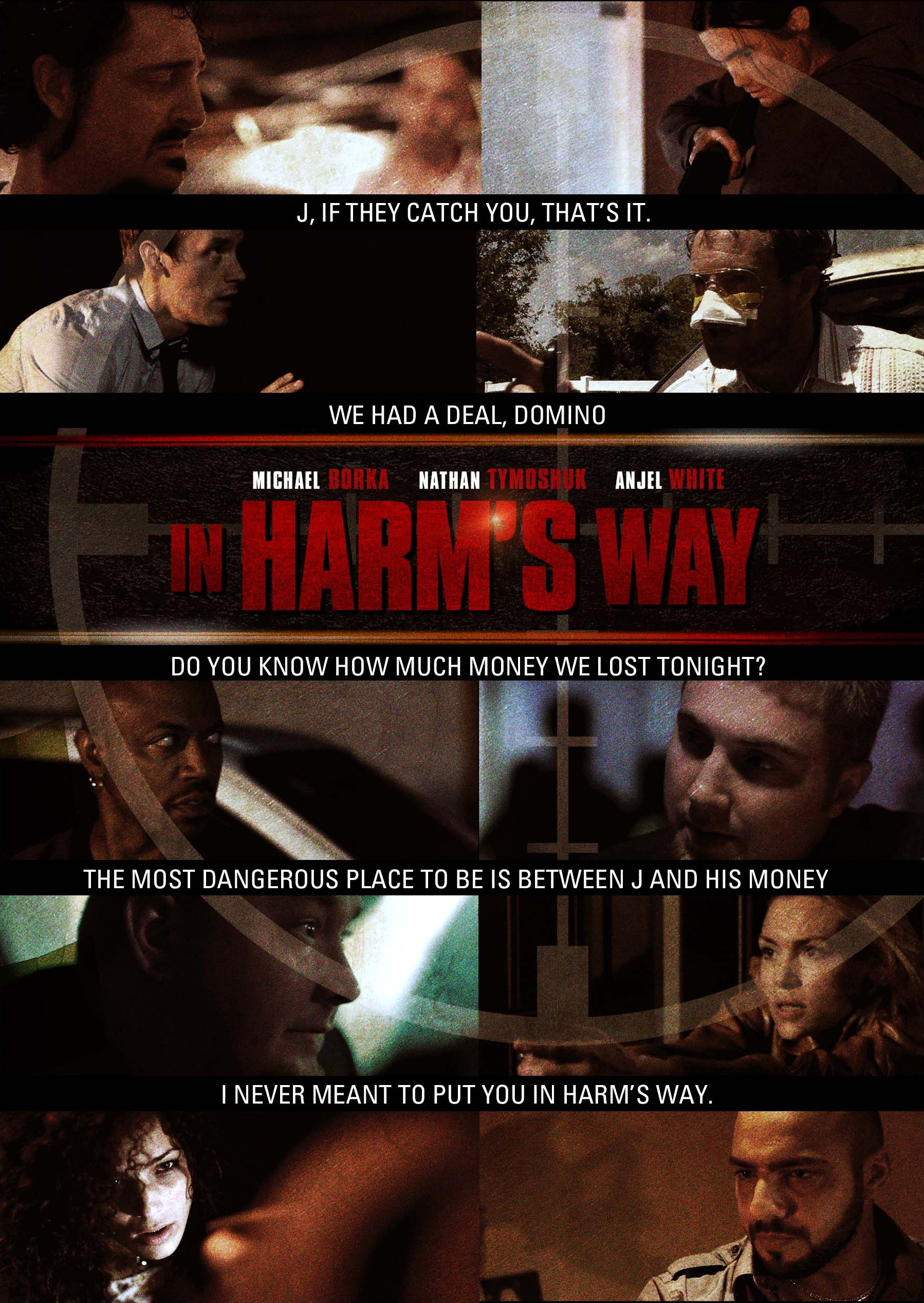 DVD : Anjel White - In Harm's Way (DVD)