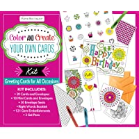 Color and Create Your Own Cards Boxed Kit: Greeting Cards for All Occasions