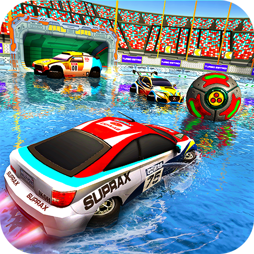 Football Car World Cup 2018: Water Cars Fight -