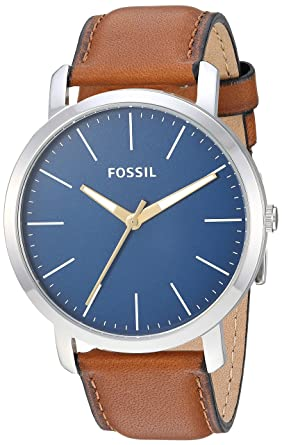 430b91d391c Image Unavailable. Image not available for. Colour  Fossil Analog Blue Dial Men s  Watch-BQ2311