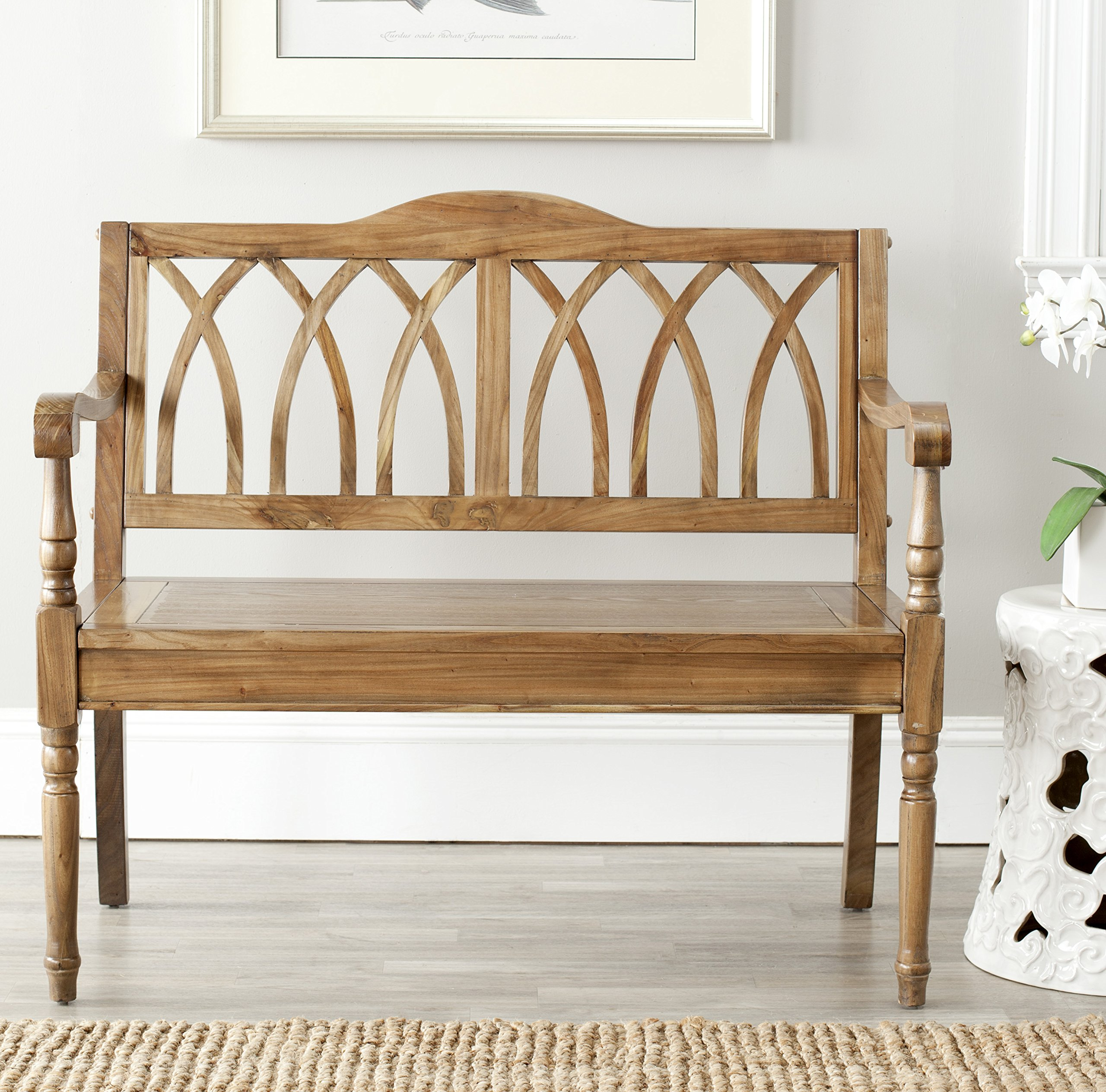 Safavieh American Homes Collection Benjamin Oak Bench by Safavieh