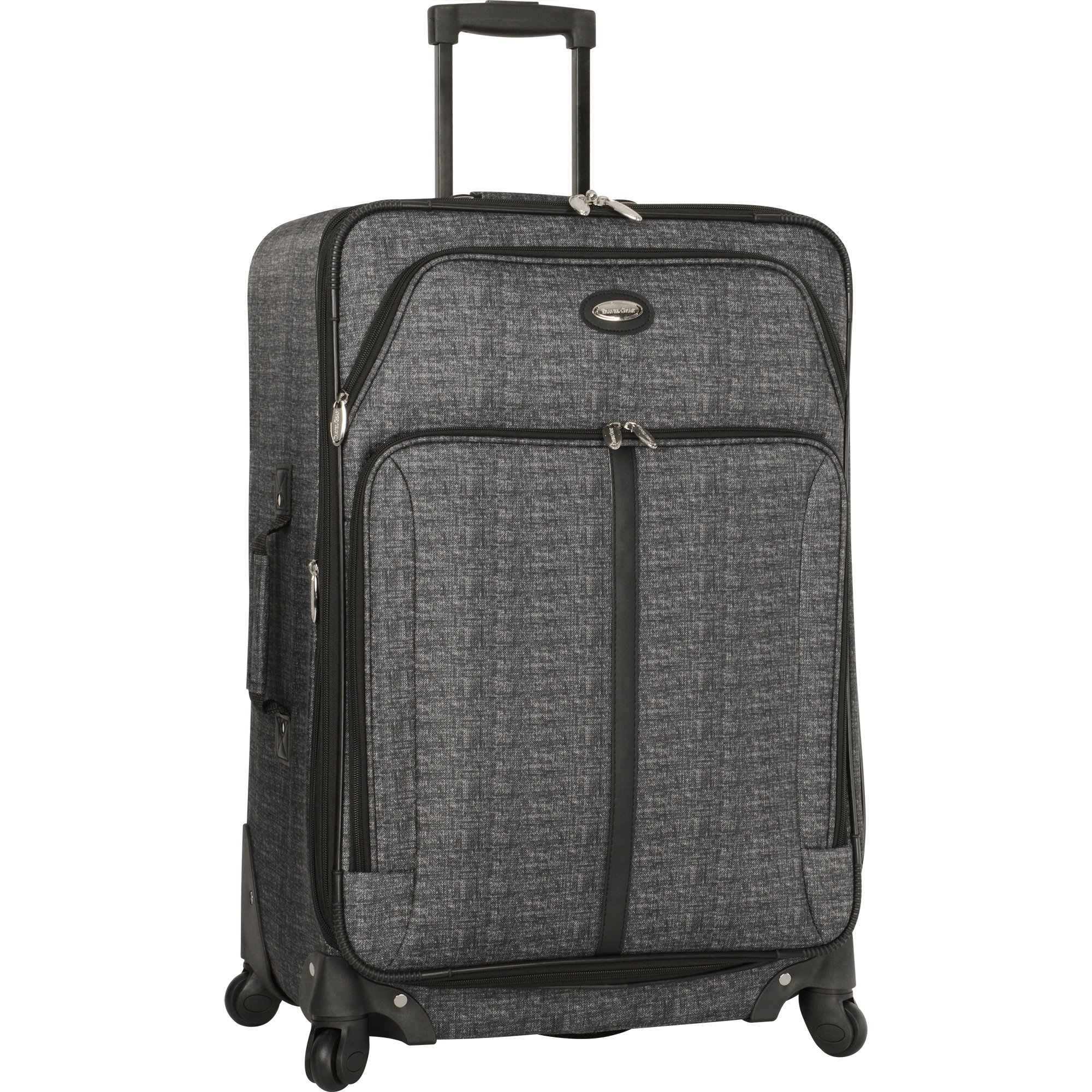 Travel Gear 29'' Expandable 4wheel Spinner Suitcase, Heather