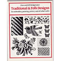 Traditional and Folk Designs for Embroidery, Painting, Pottery and All Other Crafts (Spanish