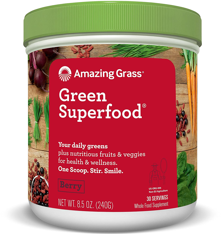 Amazing Grass - Súper Alimento Verde (Baya, 30 Sirva de Hidromasaje)