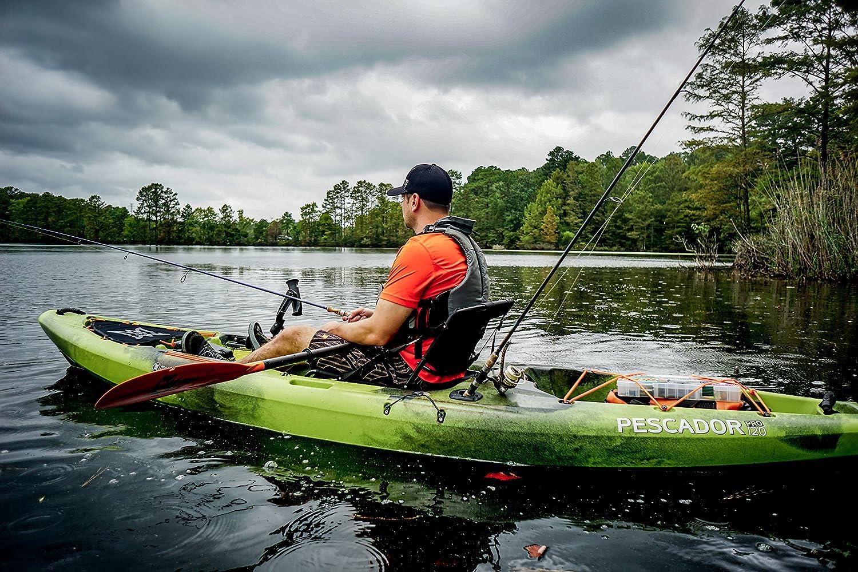 Perception Pescador Pro Sit On Top Kayak for Fishing - 12 0