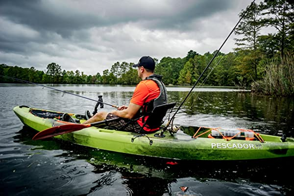 Perception Pescador Pro Sit On Top Kayak for Fishing Review