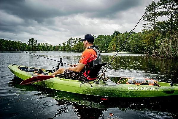 Perception Kayak Pescador Pro 120 Angling 12ft Kayak