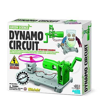 4M-5-In-1 Super Dynamo Circuit Ingenieria (00-03361): Juguetes y juegos