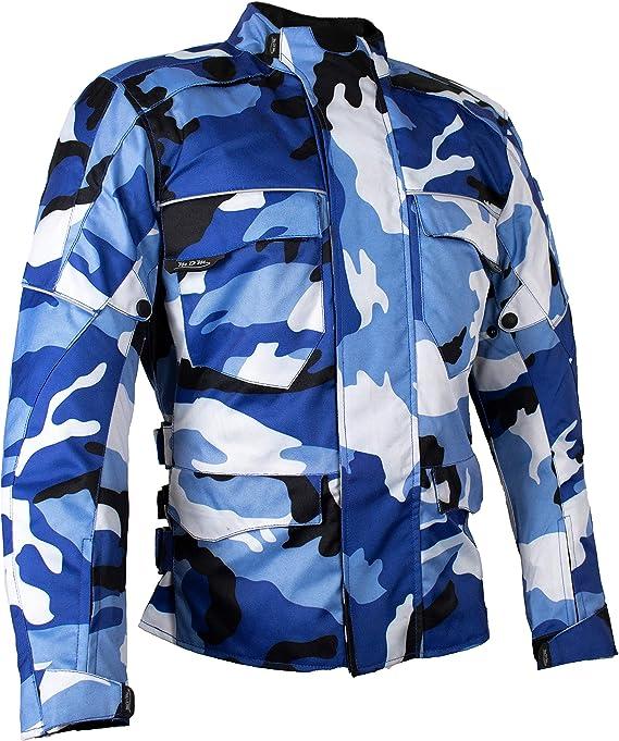 Mdm Herren Motorrad Textil Jacke Motorradjacke Winddicht Wasserdicht Belüftet Camo Camouflage 3xl Auto