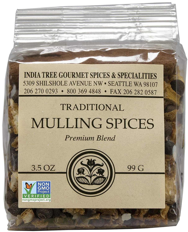 India Tree Mulling Spices Chef Pak, 3.5 Oz