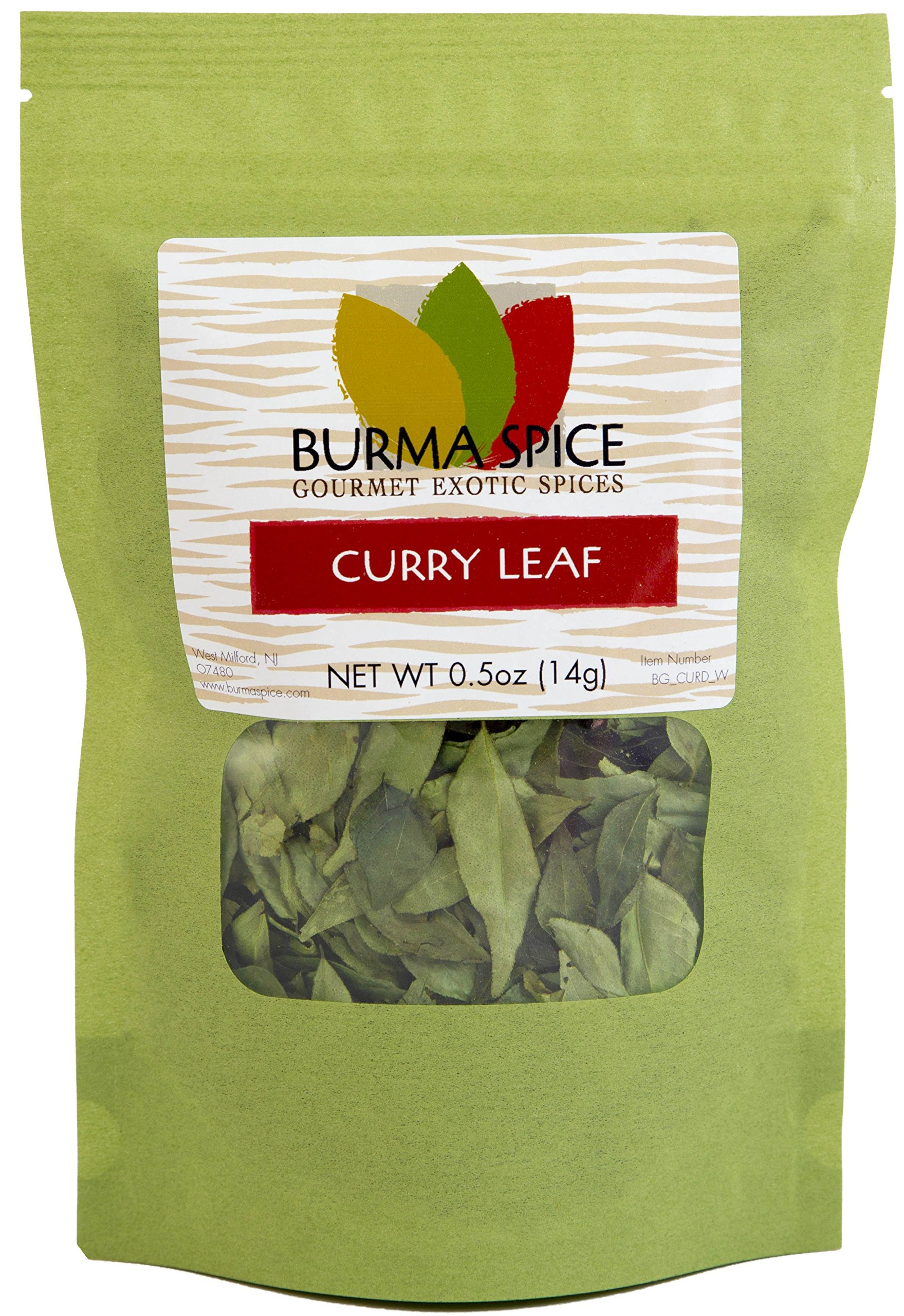 Dried Curry Leaves, Indian spice also used in Ayurvedic medicine