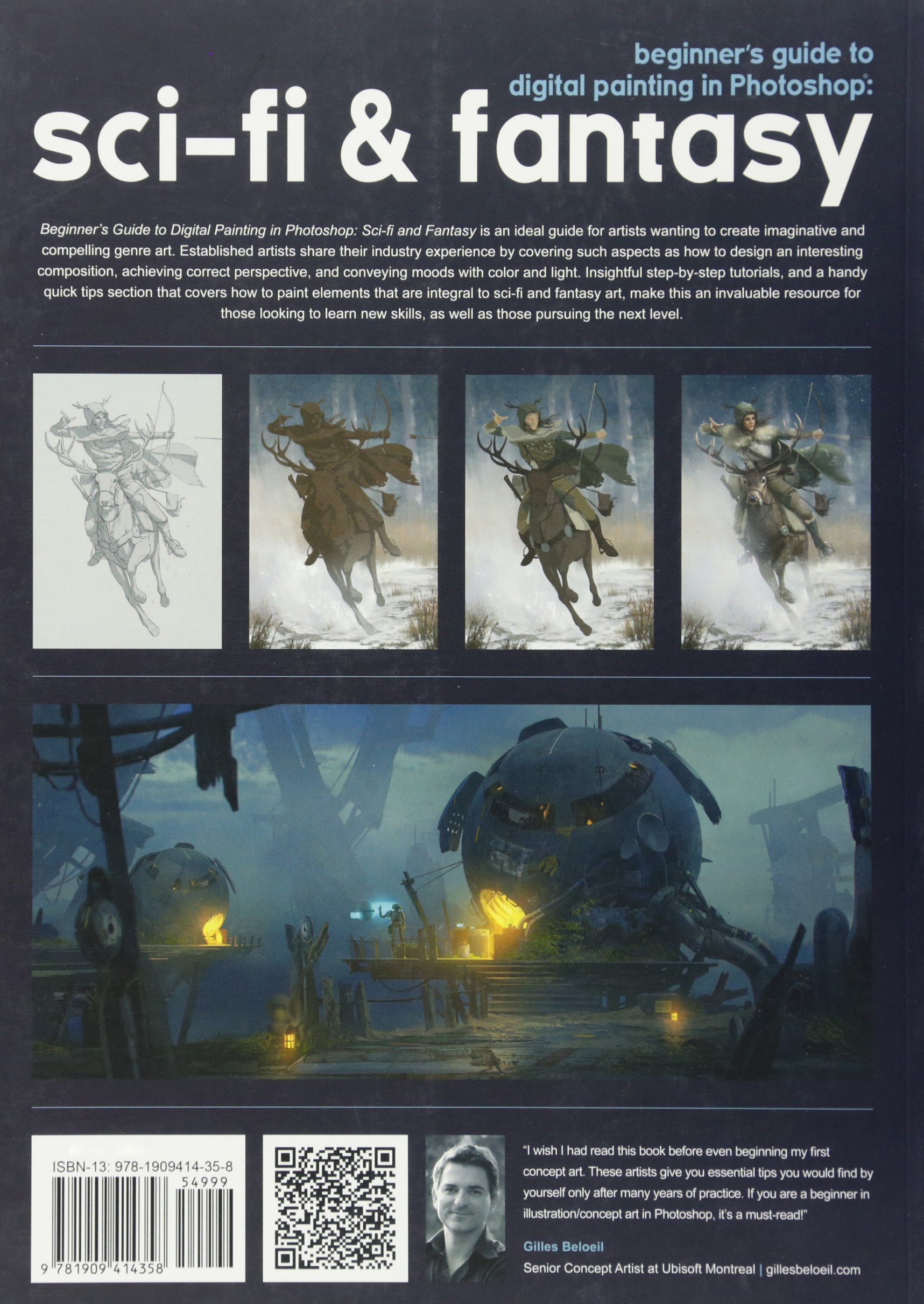 Beginner S Guide To Digital Painting In Photoshop Sci Fi And