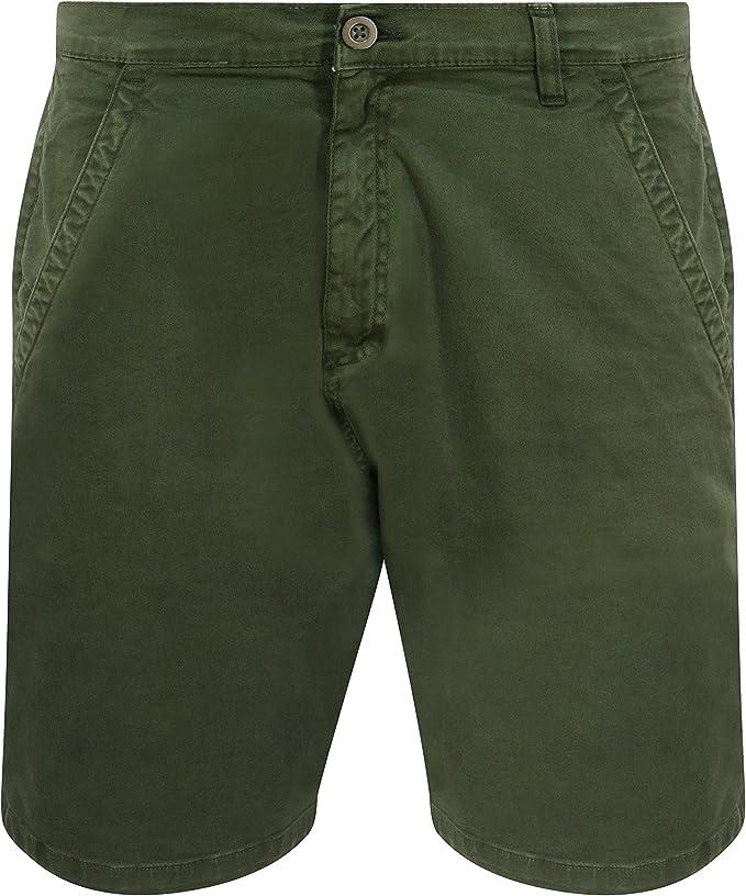 TALLA 42W x regular. Chase and Abe - Pantalones cortos chinos de algodón elástico para hombre