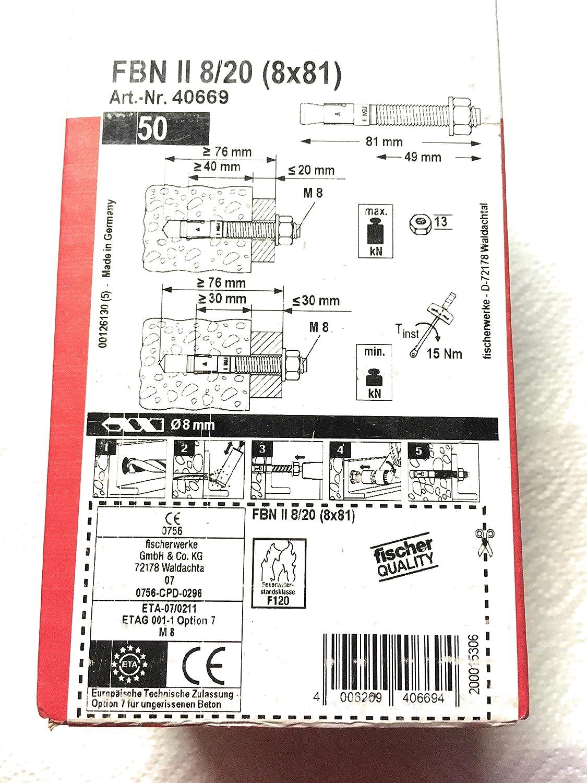 fischer 45567 Bolzen FBN II 16//100