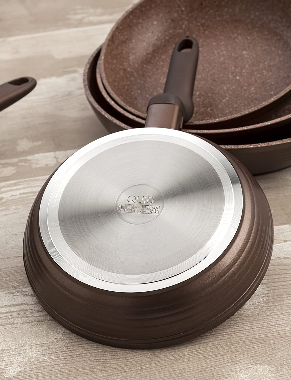 Quid Forja Wave - Sartén de Aluminio Forjado de inducción, 26 cm