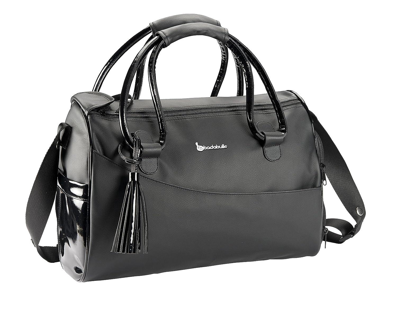 Badabulle Glossy Baby Changing Bag (Black) B043011