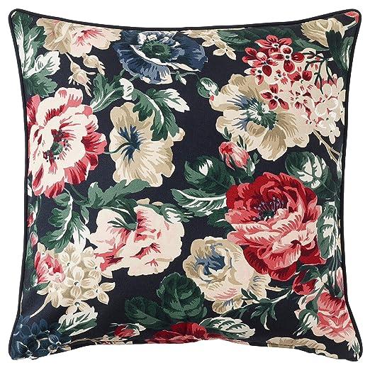 Ikea Leikny - Funda de cojín (50 x 50 cm), diseño Floral ...