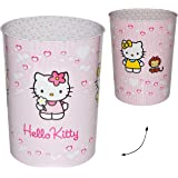 papierkorb hello kitty metall m lleimer eimer aufbewahrungsbox f r kinder katze m dchen b r. Black Bedroom Furniture Sets. Home Design Ideas