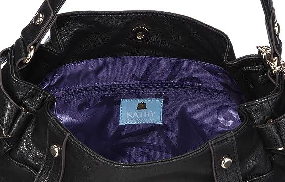 Kathy Van Zeeland Wrapmaster H67910, Borsa a Tracolla Donna, 40x29x22 cm (L x A x P)