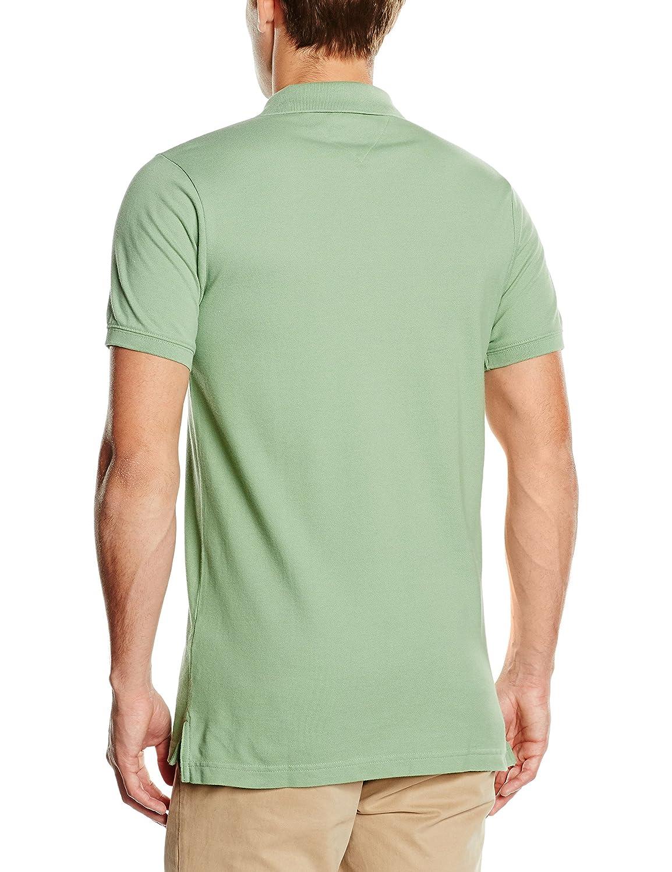Tommy Hilfiger Thdm Basic S/S 1- Polo para hombre, color Verde ...