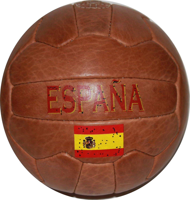 スペインヴィンテージサッカーボール B00CJJGPOK