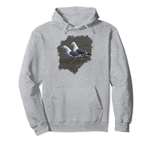Two Gulls Pullover Hoodie