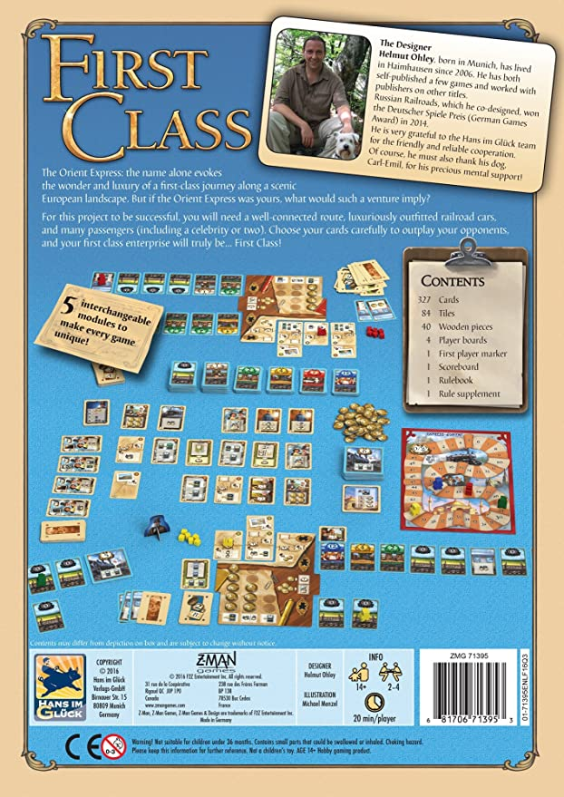 Amazon.com: First Class: Toys & Games