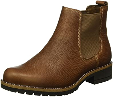 brown ecco boots