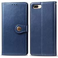 Suhctup Funda Compatible con iPhone 6+/6S+ Plus,Billetera Carcasa