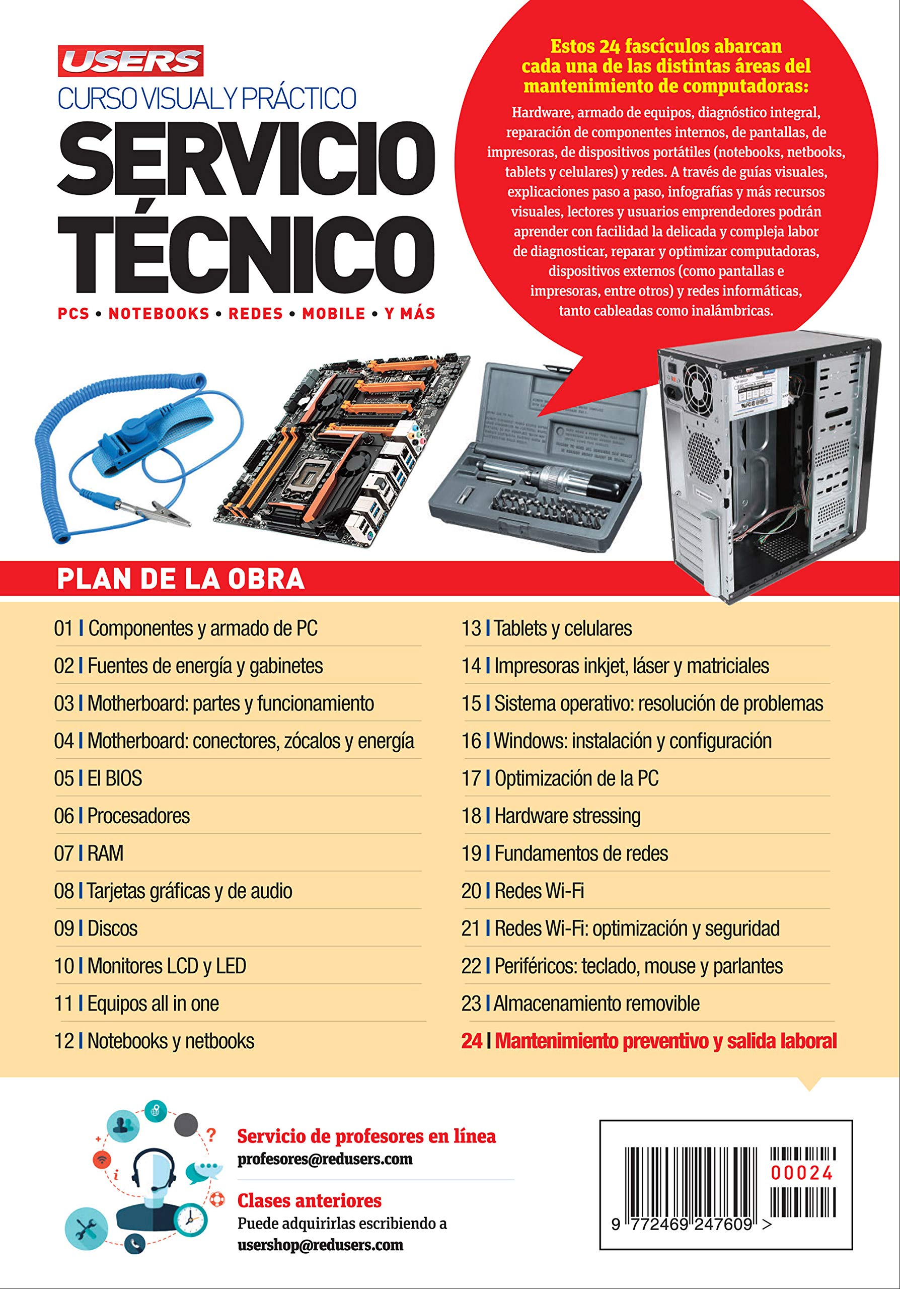 Servicio Técnico - PCs, Notebooks, Redes, Mobile y màs (Spanish Edition): USERS Staff, USERS, Español;Espanol;Espaniol: 9789879744185: Amazon.com: Books