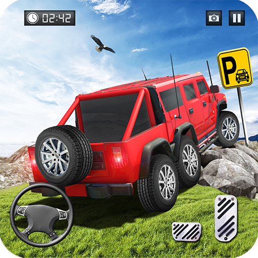 Offroad Pickup Truck Parking Simulator 2018: Mountain Jeep Truck Simulator & Buggy Car Driving Games Free for Kids (Buggy Jeep)