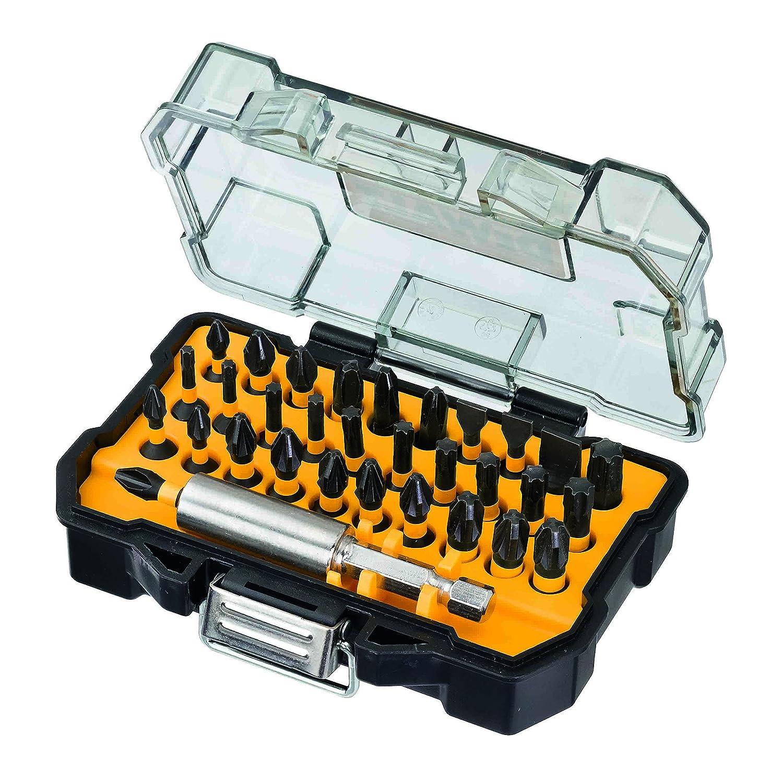 DeWalt Extreme Impact Torsion Bohr- und Schrauberbit-Set (32-tlg. Set im Touch Case, inkl. Bithalter, fü r den Einsatz in Schlagschraubern geeignet) DT70523T DT70523T-QZ