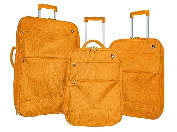 Heys - Juego de maletas Adulto unisex, naranja (naranja) - D255-Orange: Amazon.es: Ropa y accesorios