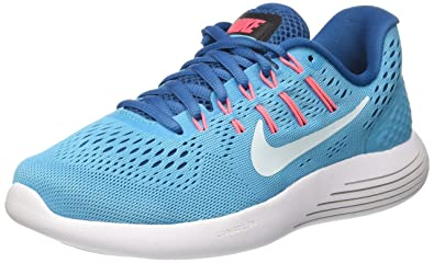 buy popular cb0f4 5ba67 Nike WMNS Lunarglide 8 Chaussures de Running Femme, Chlorine  Industriel/Rose Coureur/Bleu