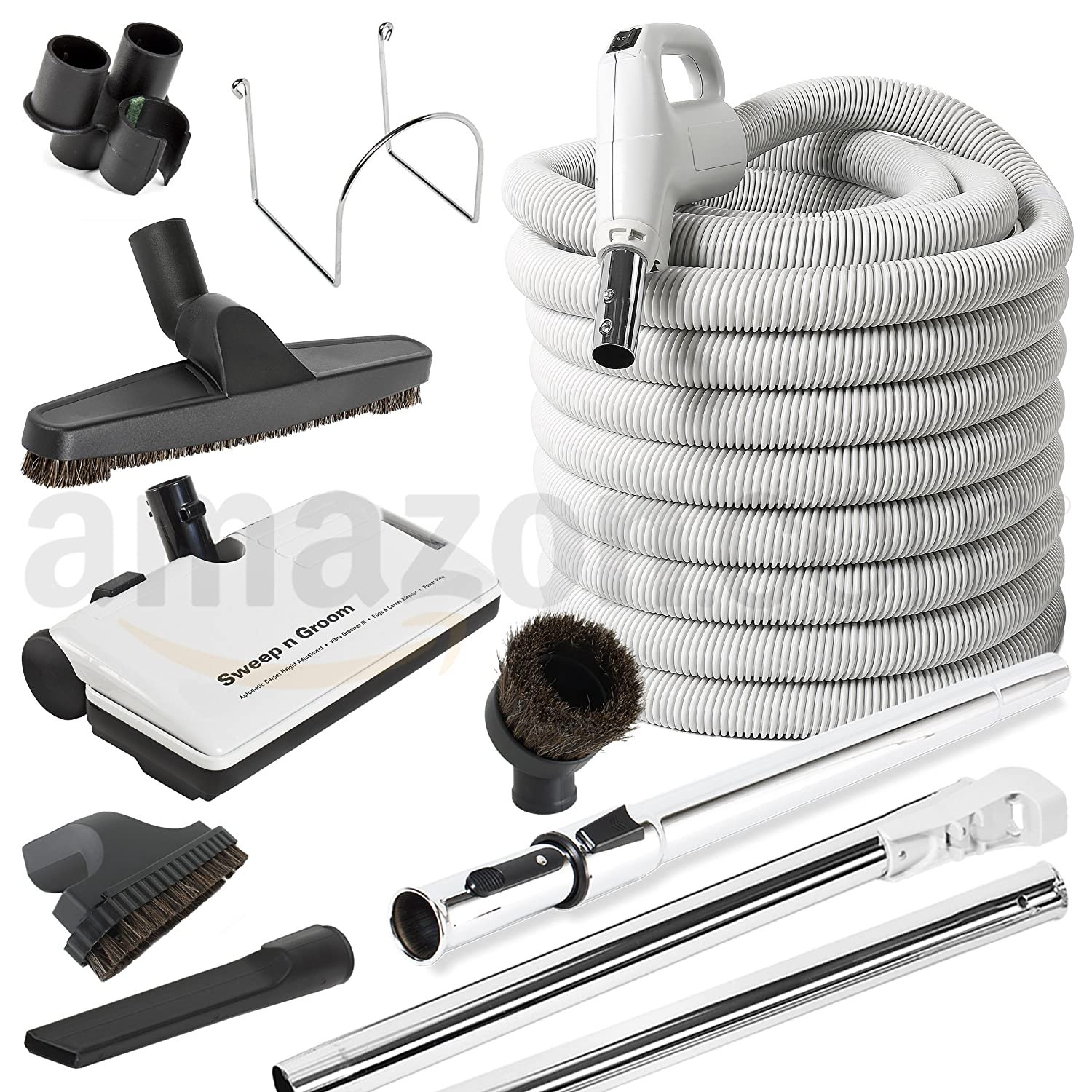 30' Deluxe Central Vacuum Accessory kit