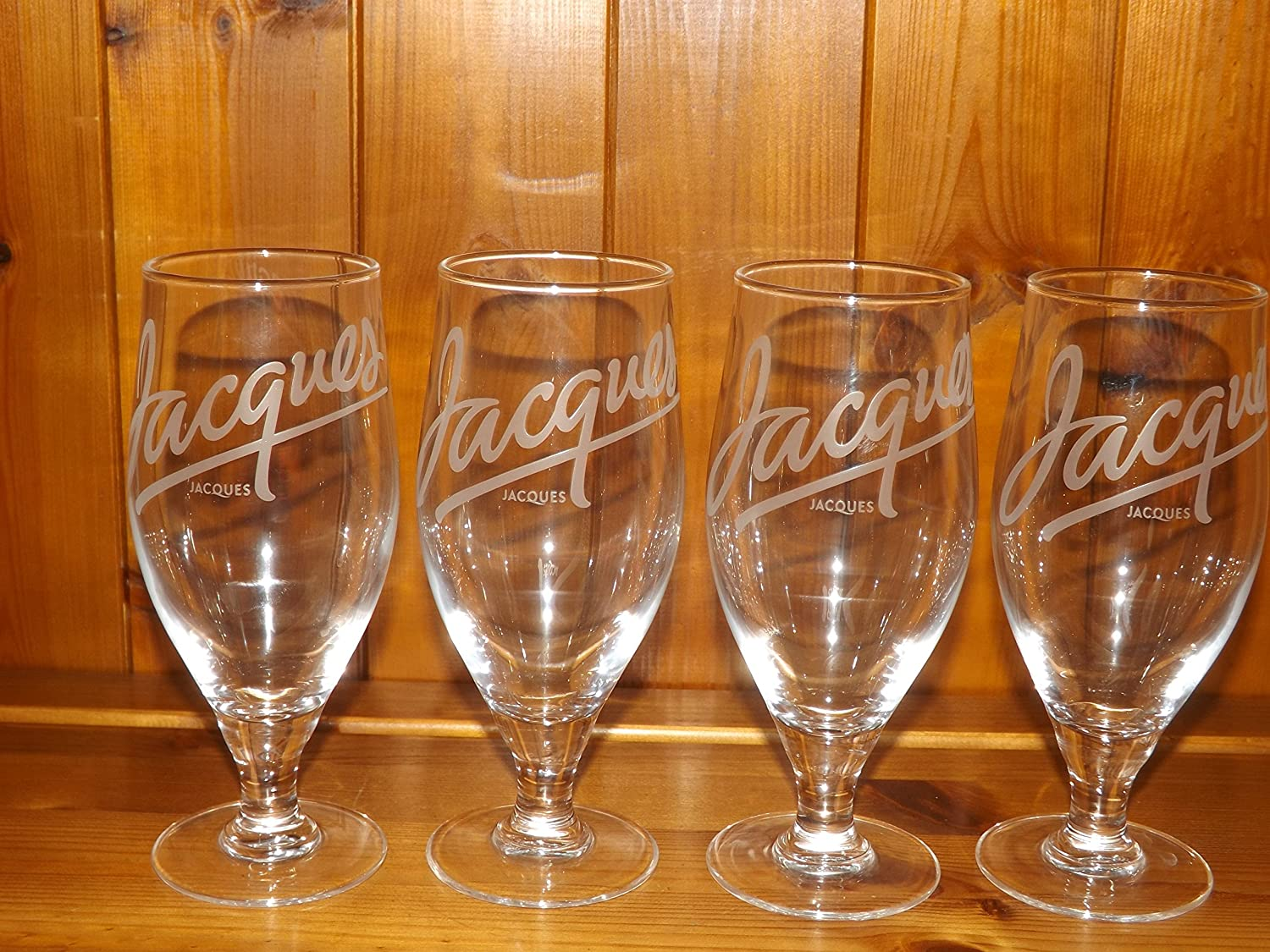 Jacques Cider Tall Glass With Stem x 4