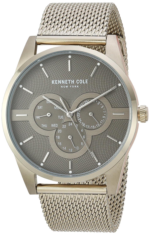 d269674a2de Amazon.com  Kenneth Cole New York Men s Quartz Stainless Steel Casual Watch