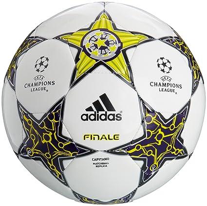 adidas 5 Finale 12 Capitano - Balón de fútbol, color blanco blanco ...